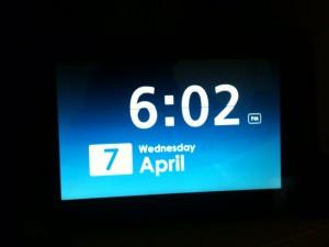 Joggler clock