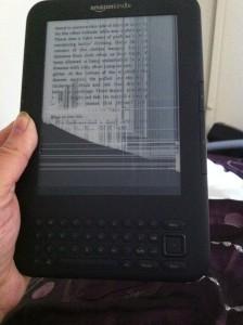 faulty Amazon Kindle
